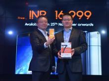 (L-R) Hogon Ho, General Manager (Vice Presient), Gionee HongKong and David Chang, Global Sales Director, Gionee India