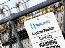 TransCanada Keystone Pipeline Plant