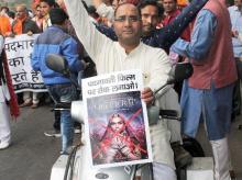 Padmavati row, protests against Padmavati release, Rajput protests over Padmavati