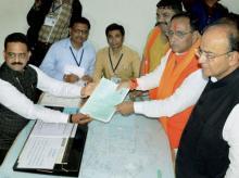 Vijay Rupani, Arun Jaitley, Gujarat polls