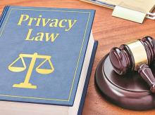 Privacy law, law