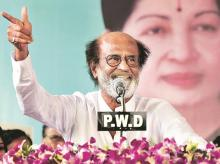Rajinikanth, Rajinikanth in politics