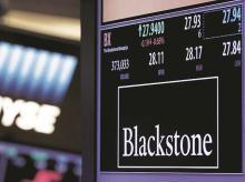 Blackstone, investment, real estate