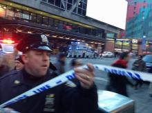 Manhattan Blast, New York police, NYPD