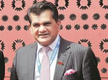 Amitabh Kant. Chief executive officer, NITI Aayog