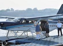 Gujarat polls: Modi ditches road, lands via seaplane; Top 10 developments
