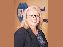 Rachel Grimes president, International Federation of Accountants