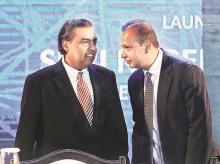 Mukesh and Anil Ambani
