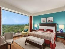 Hotel, resort, oberoi, bedroom, bed, suite