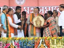 Narendra Modi, Tripura elections