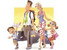 Summer vacation, Family vacation
