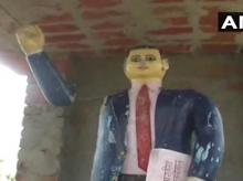 statue vandalism