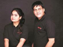 Shruti Gochhwal and Deepanshu Manchanda, co-founders of Zappfresh