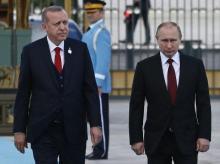 Vladimir Putin-Erdogan