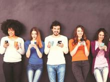social media, internet, mobile phone, smartphones