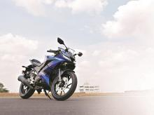 Yamaha YZF R15, bike