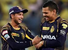 IPL 2018, KKR, Kuldeep Yadav, Sunil Narine