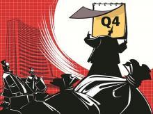 Q4 earnings. Illustration: Ajay Mohanty