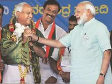 Modi and Yedyurappa