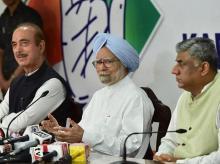 manmohan singh, congress