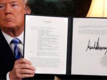 Trump, Donald trump, iran deal