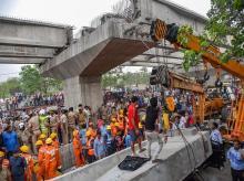 varanasi bridge, flyover collapse, varanasi bridge collage, bridge falls in Varanasi, varanasi flyover, varanasi breaking news, varanasi current news, varanasi news, varanasi death toll, varanasi accident, varanasi news live, varanasi latest news