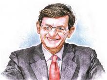 Vittorio Colao, outgoing Chief Executive, Vodafone