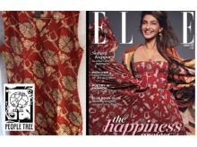 Sonam Kapoor, dior, people tree, elle india