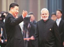 Chinese President Xi Jinping, Prime Minister Narendra Modi