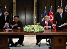trump, Kim, Singapore Summit