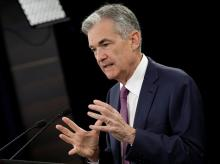 US Fed chief Jerome Powell
