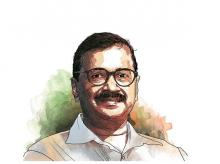 Arvind Kejriwal. Illustration: Ajay Mohanty