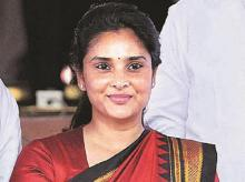 Congress social media chief Divya Spandana may be miffed with the party