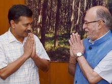 Arvind Kejriwal, Lieutenant Governor, Anil Baijal