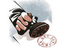 GST returns. Illustration: Ajay Mohanty