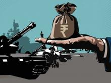 India's defence spending