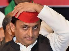 Former chief minister of UP Akhilesh Yadav during a function in Kolkata on Saturday. (Photo: PTI)