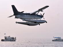 SpiceJet, sea planes