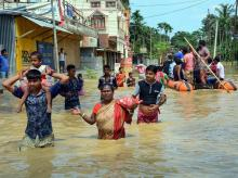 Downpour, Flood, Agartala