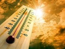 Summer heat image via Shutterstock