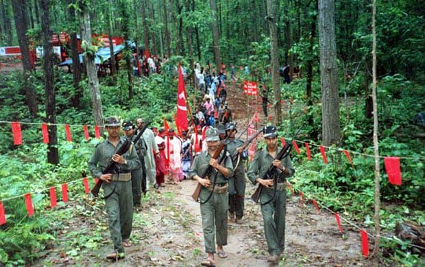 Naxalites, Maoists