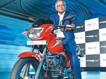 Venu Srinivasan, chairman of TVS Motor
