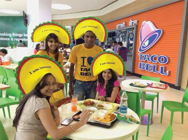 New flavours with its youngest chain, Taco Bell