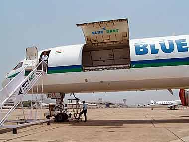 Blue Dart Express soars 16% on robust September ...
