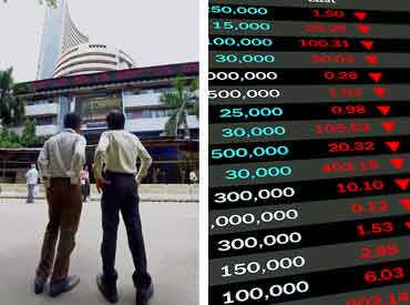 Sensex holds 27,400 amid volatility; Tata Motors jumps 5%
