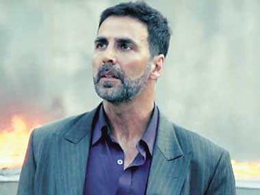 Akshay Kumar in a still from Airlift