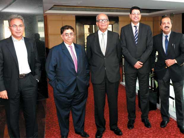 Rajiv Memani, Cyril Shroff, R C Bhargava, Noshir Kaka, Sanjay Nayar