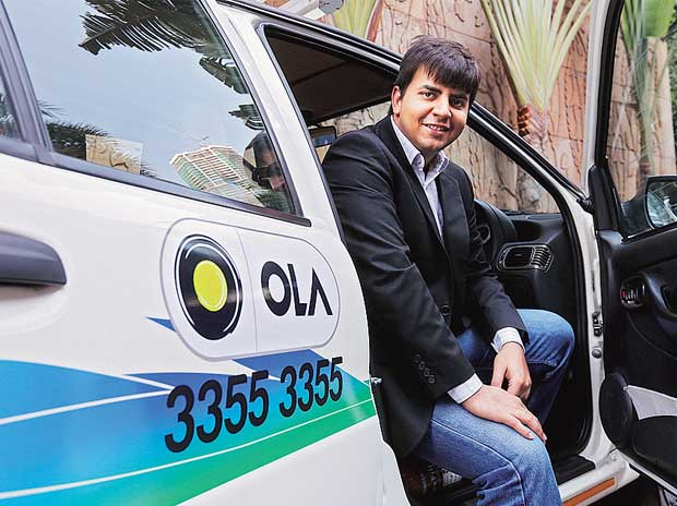 Bhavish Aggarwal, Co-founder and CEO, Ola Cabs