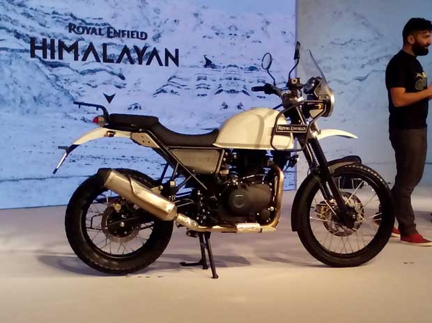 Royal Enfield launches Himalayan bike at Rs 1.55 lakh