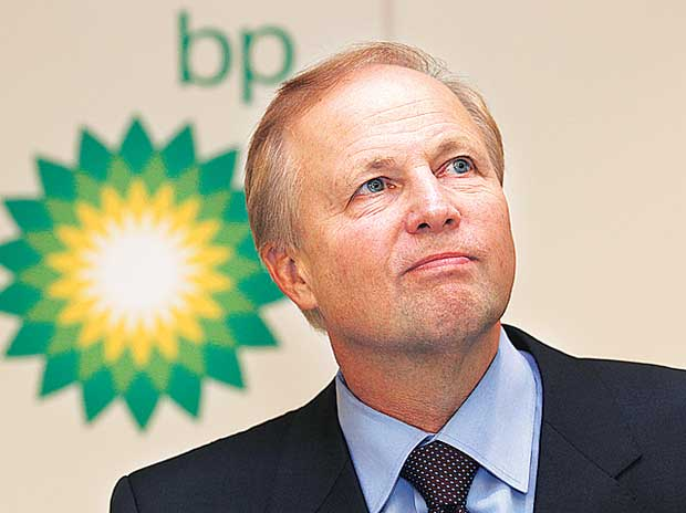 #5 Bob Dudley, Group chief executive, BP